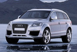 Audi Q7 air suspension parts