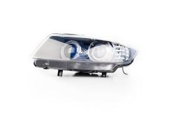 Headlight assembly Passenger's side D1S+H8 for BMW 3 E90 E91 2008 63117240247